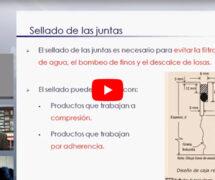 Videoconferencia de IECA sobre diseño y ejecución de juntas en pavimentos de hormigón